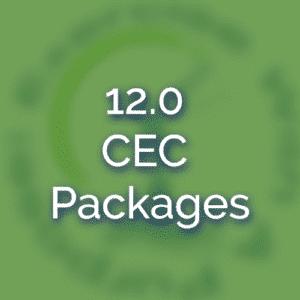 12.0 CEC Packages
